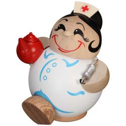 Happy Nurse MINI German Smoker Incense Figure - 4.3 Inches - 19123