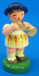Spring Girl Bugle Figurine