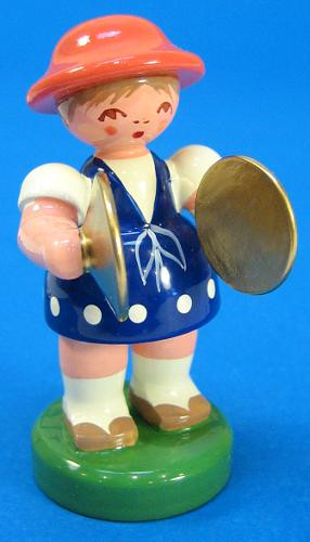 Spring Girl Cymbals Figurine