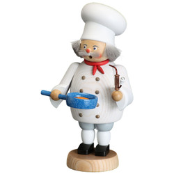 Cook German Smoker Incense Figurine  8.3 Inches - 12657