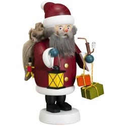 Santa German Smoker Incense Figurine  7.5 Inches - 12659