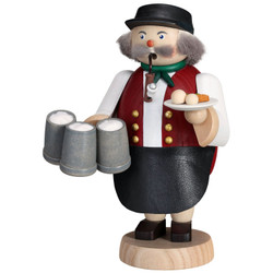 Oktoberfest Waiter Beer German Smoker 7.1 Inches - 12669
