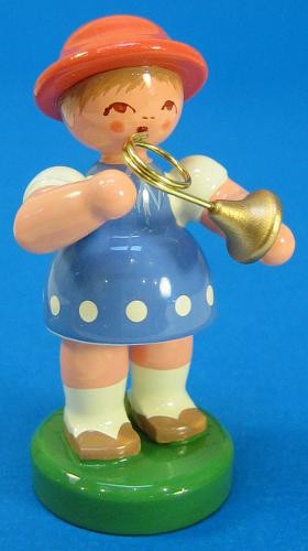 Spring Girl French Horn Figurine