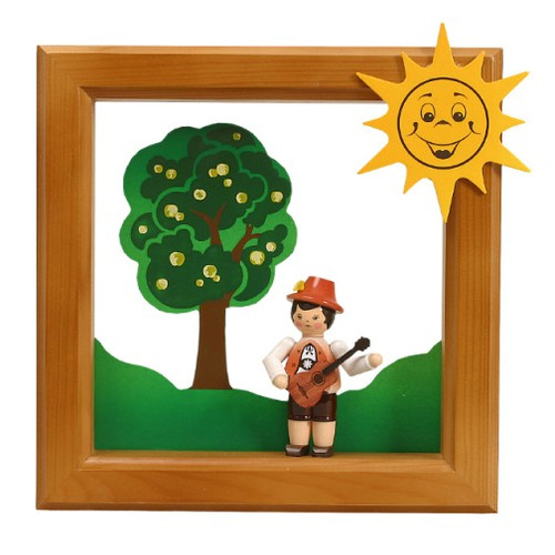 Summer Boy Musicial Framed Scene