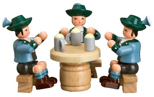 Three German Beer Figurine