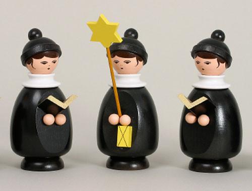 Three Member Christmas Singers