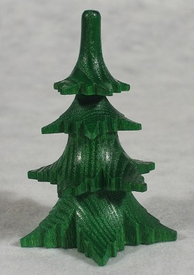 Tree Medium Green Figurine