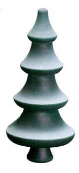 Winter Tree Green Medium Figurine