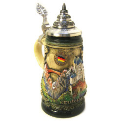 Alps Castle German Beer Stein