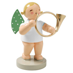 Angel Bass Horn Figurine Wendt Kuhn FGW650X46