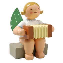 Angel Concertina Figurine Wendt Kuhn Sitting FGW650X8A