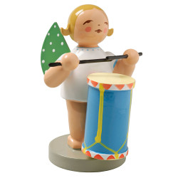 Blonde Angel Drum Figurine Wendt Kuhn FGW650X45