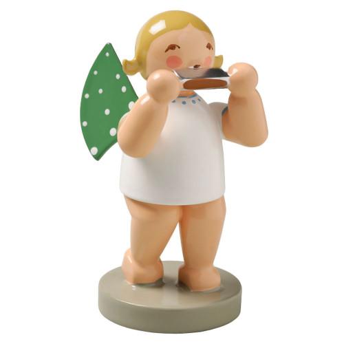 Blonde Angel Harmonica Figurine Wendt Kuhn FGW650X26