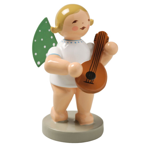 Blonde Angel Mandolin Figurine Wendt Kuhn FGW650X4