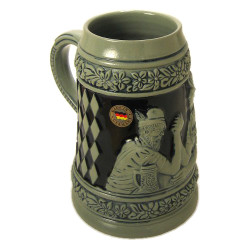 Arm Wrestler German 1 Liter Beer Stein K635xSGK