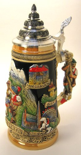 Austria Alps German Beer Stein