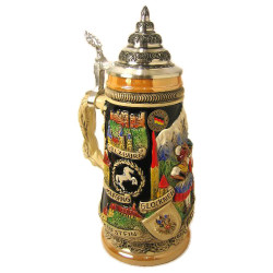 Austria Scene German Beer Stein