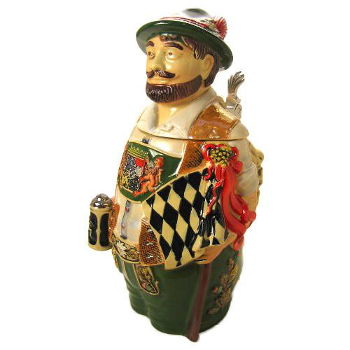 Barvarian Figure Beer Stein