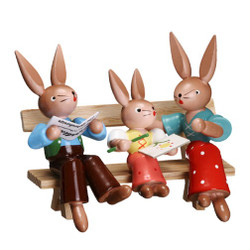 Bunny Family Bench