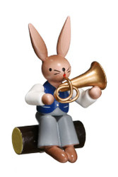Bunny Playing Tenor Horn