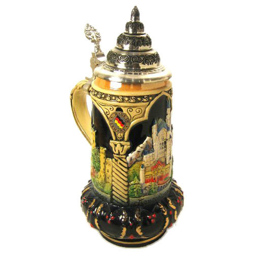 Castle View German Beer Stein
