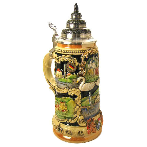 Castles German Beer Stein