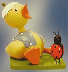 Chick Ladybug Figurine