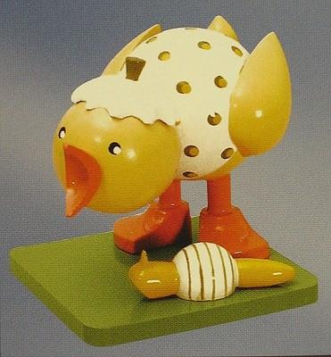 Chick Snail Figurine