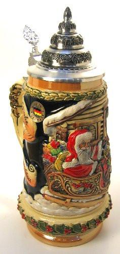 Christmas Weihnachten Beer Stein