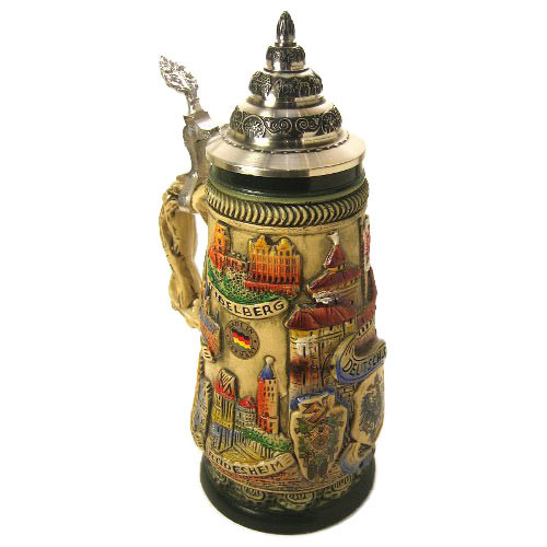 City Scenes German Beer Stein