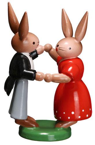 Dancing Rabbits Pair