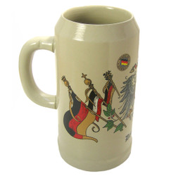 Deutschland Eagle Flag 1 Liter Beer Stein