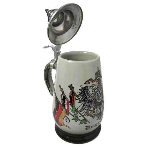Eagle Flag German Beer Stein K410x0