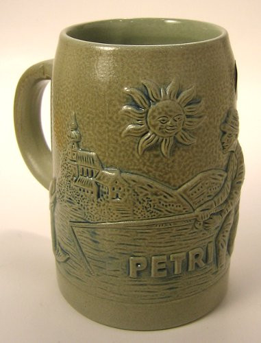 Fisherman German Beer Stein