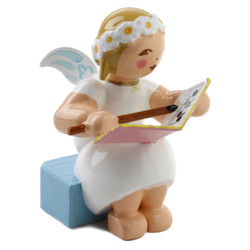 Goodwill Snowflake Blonde Angel With Book Wendt Kuhn FGW634X70X5B