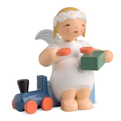 Goodwill Snowflake Angel Train Wendt Kuhn FGW634X70X15