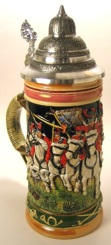 Husars Horse German Beer Stein
