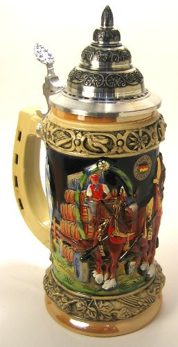 Keg Wagon German Beer Stein