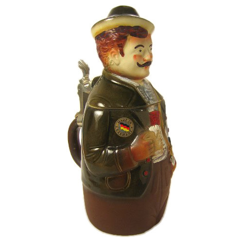 Man Figure German Beer Stein