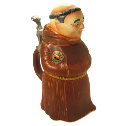 Monk Figure German Beer Stein