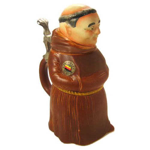 Monk Figure German Beer Stein