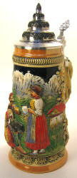 Mountain Alps German Beer Stein