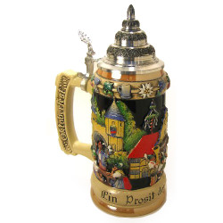 Oktoberfest German Band Beer Stein