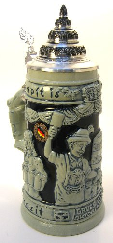 Oktoberfest Greeting Beer Stein