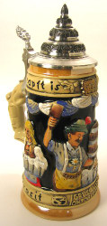 Oktoberfest Waitress German Beer Stein