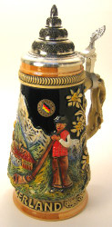 Switzerland German Beer Stein