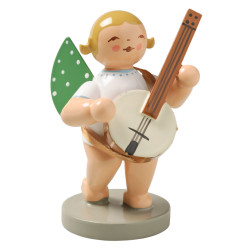 Wendt Kuhn Blonde Angel Banjo Figurine FGW650X59F
