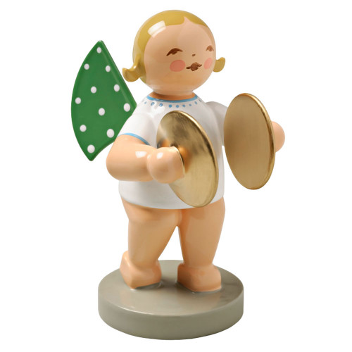 Wendt Kuhn Blonde Angel Cymbals Figurine FGW650X11