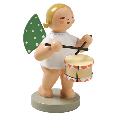 Wendt Kuhn Blonde Angel Drum Figurine FGW650X10