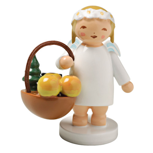 Wendt Kuhn Angel Figurine Fruit Basket FGW634X30XF